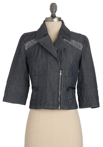 Small Town Girl Jacket by Tulle Clothing - Short