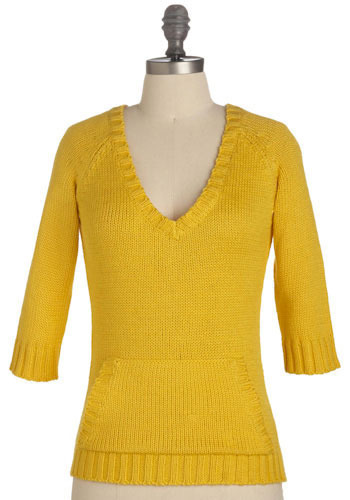 Knit in the Sun Sweater by Tulle Clothing - Mid-length