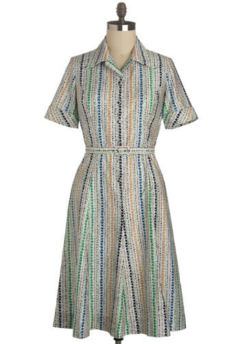 Vintage Tandem Tread Dress