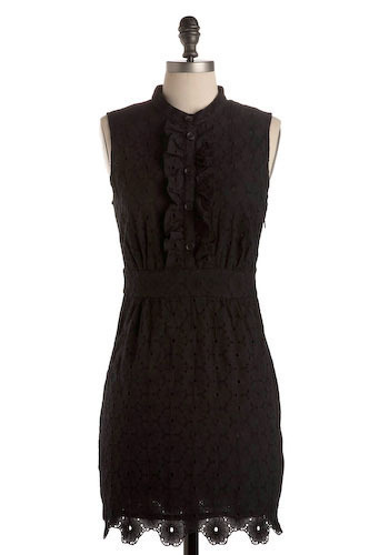 Eyelet Love In Dress by BB Dakota - Short