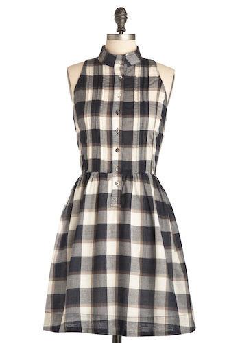 A Little Bit Alt Country Dress - Mid-length
