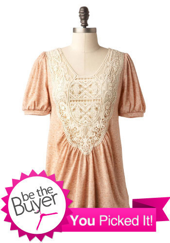 Lovely Lace Shirt - Mid-length