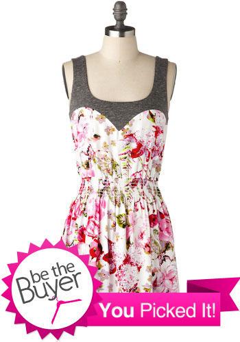 HOLD Power Bloom Dress - Short