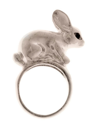 Peter Silver Tail Ring - Silver, Statement