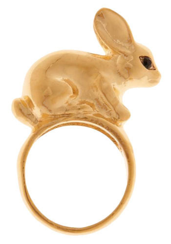 Peter Golden Tail Ring