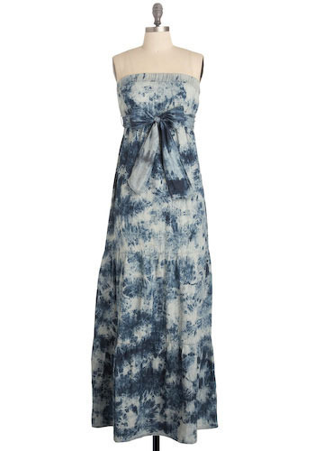 Watery World Maxi Dress - Long