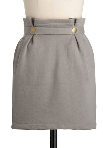 Paper Bag Lunch Date Skirt by Tulle Clothing - Short