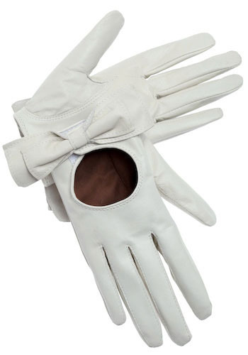 Take a Bow Gloves in Creme