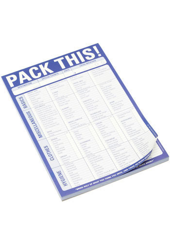 Pack This! Notepad