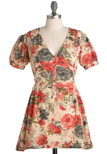 Theory of Flowers Dress - Short