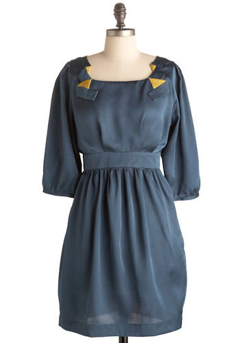 Chic Intelligence Agency Dress - Mid-length