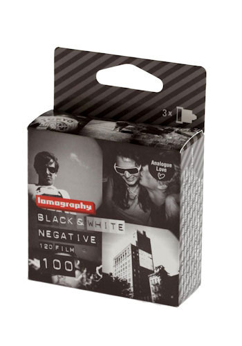 Lomography Black & White 120 mm Film by Lomography - Black, Handmade & DIY, Travel, White