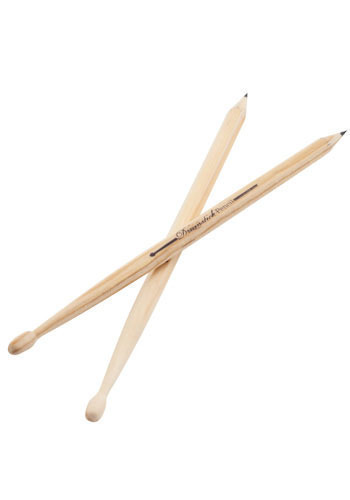 Scroll of Rock Drumstick Pencils
