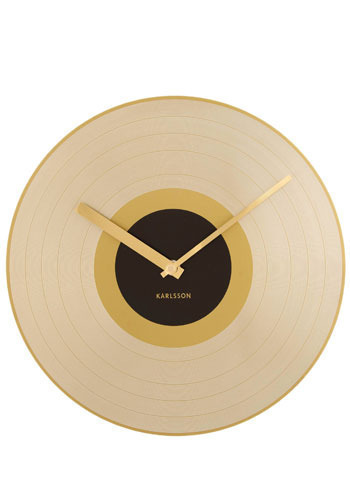 Go for the Gold Record Clock