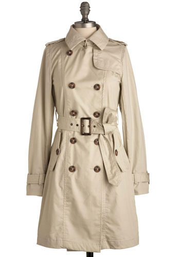 Trench Coat Confidential by BB Dakota - Long