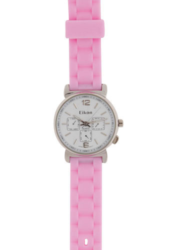 New York Minute Watch in Pink
