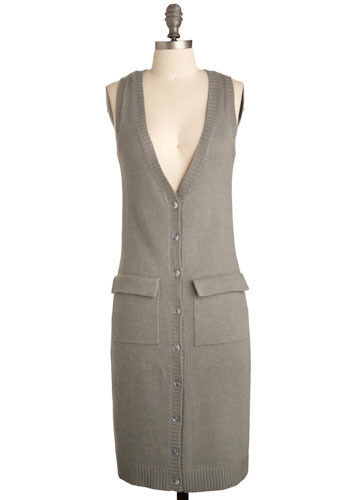 Vest Dress-ed - Mid-length