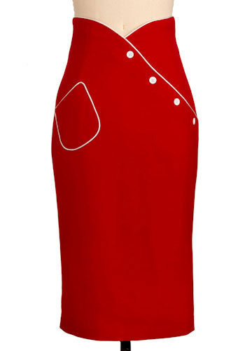 Dial M for Marvelous Skirt by Bettie Page - Long