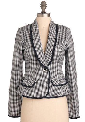 Business Lunch Blazer - Short