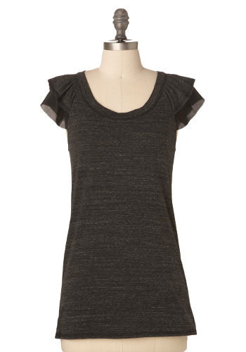 One, Two, Peek-A-Boo Top - Mid-length