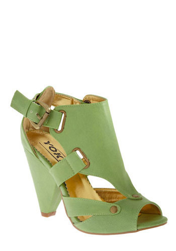 Easy Being Green Sandal