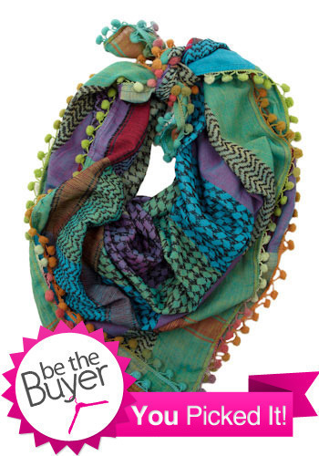 Dream Weaver Train Scarf