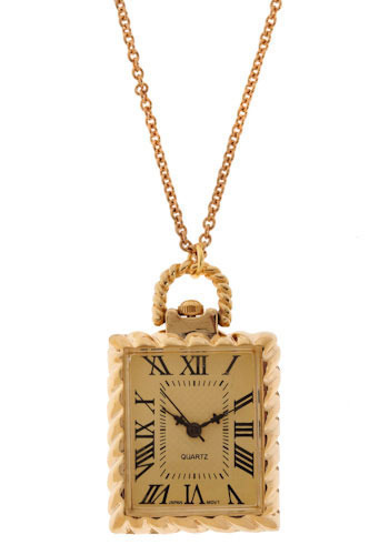 Not on My Watch Necklace - Gold, Black