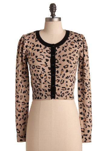 Definitely Leopard Cardigan - Short
