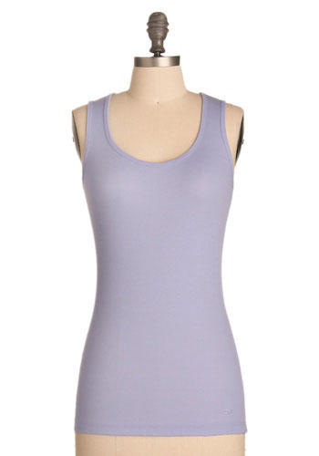 The Versatile Tank in Thistle - Mid-length