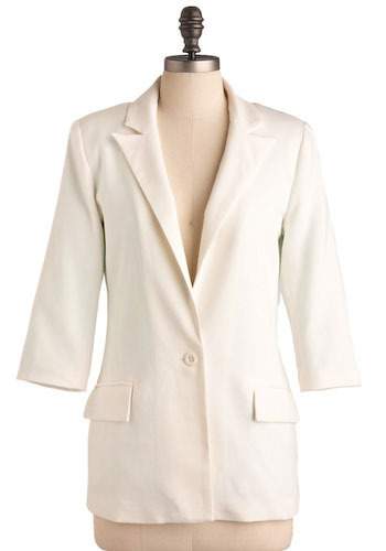 White Heat Blazer - Mid-length