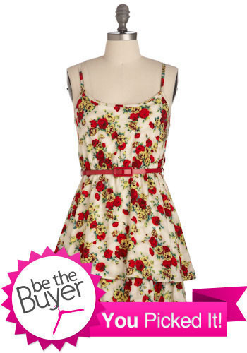 Stop, Drop, and Rose Dress - Short