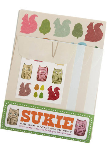Sukie Critter Correspondence Stationery Set - Multi, Handmade & DIY