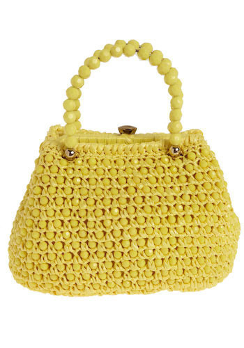Vintage Lemon Ball Purse
