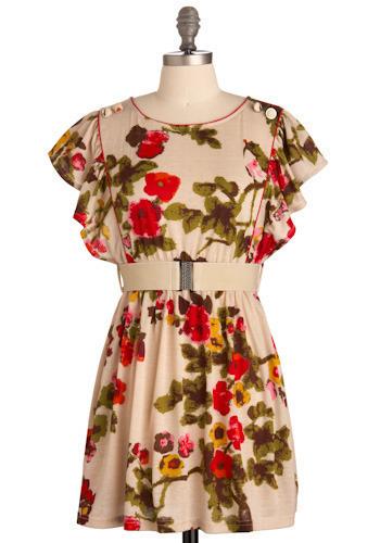 Precious Petal Dress - Short