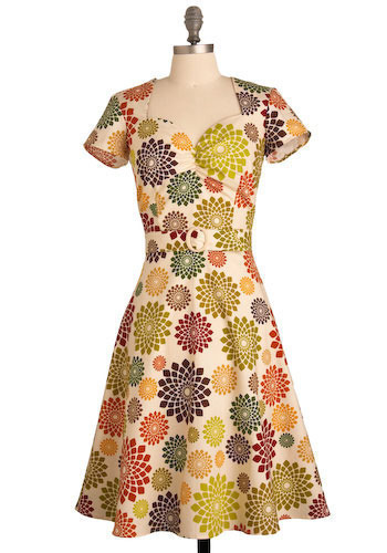 Avocado Orchard Dress - Long
