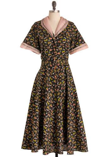 Vintage Pink Mallard Dress