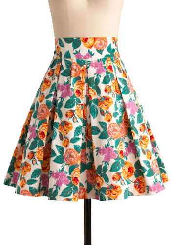 Contra Dance Skirt - Mid-length