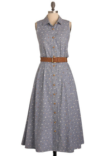 Vintage Meadow Run Dress