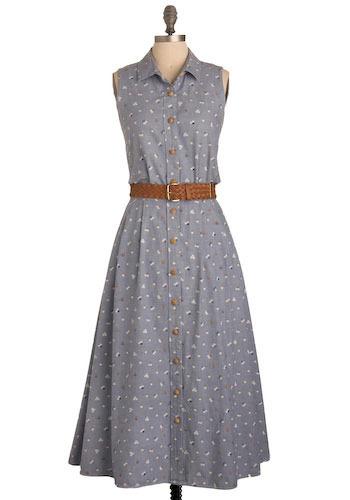Vintage Meadow Run Dress
