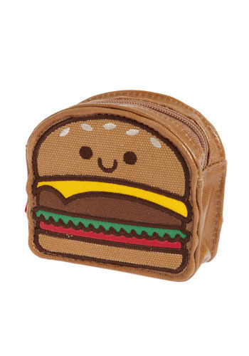 Quarter Pounder Pouch by Loungefly - Brown, Red, Yellow, Green, White