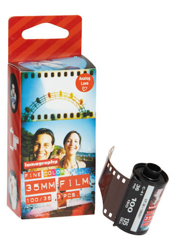 Lomography Fine Color 35 mm Film - Multi, Vintage Inspired