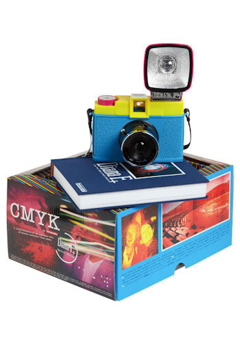 Diana F+ Clone Camera in CMYK by Lomography - Multi, Travel, Neon, Graduation, Festival, Summer, Boho
