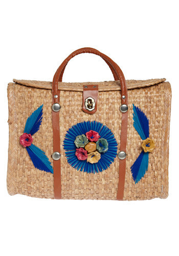 Vintage Tropical Escape Bag