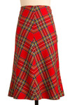 Vintage Sweet and Tartan Skirt