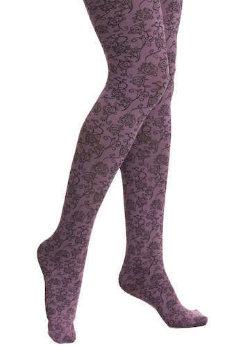 Leisurely Lavender Tights