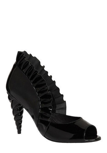 Unicorn Princess Heel in Black by Jeffrey Campbell