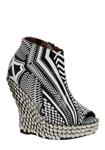 Fashion is Art Wedge by Jeffrey Campbell - Wedge