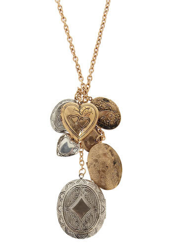 Locket Like It's Haute - Silver, Gold
