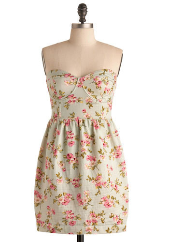 You Were Mint for Me Dress - Short
