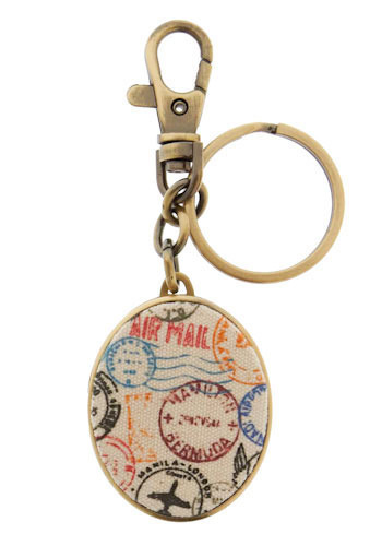 Around the World Keychain | Mod Retro Vintage Keychains | ModCloth.com :  keychain